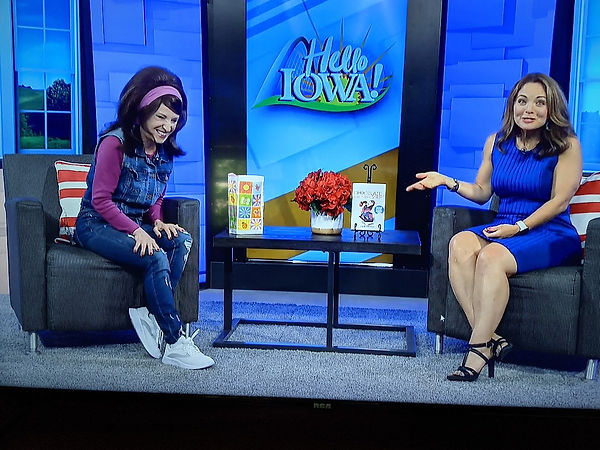 The Stree Lady Appearing on Hello Iowa