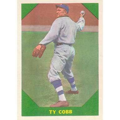 Ty Cobb   - 1960 Fleer