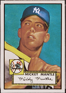1952 Topps Mickey Mantle GEM-MT 10