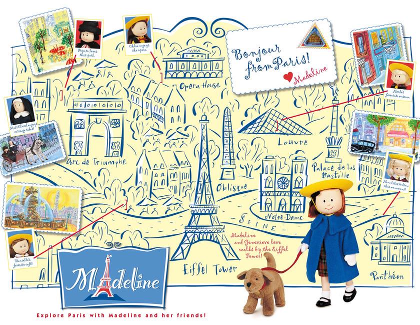 Madeline Map