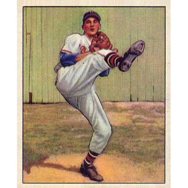 Warren Spahn 1950 Bowman
