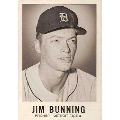 Jim Bunning   - 1960 Leaf