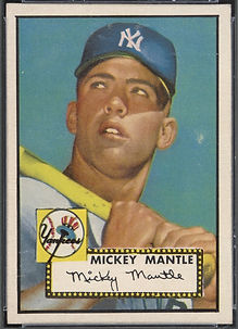 1952 Topps Mickey Mantle EX-MT 6
