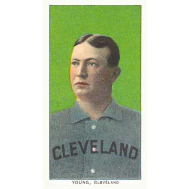 Cy Young - 1909 Tobacco T-206