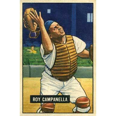 Roy Campanella 1951 Bowman