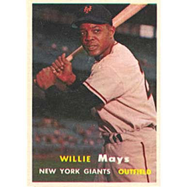 Willie Mays   - 1957 Topps