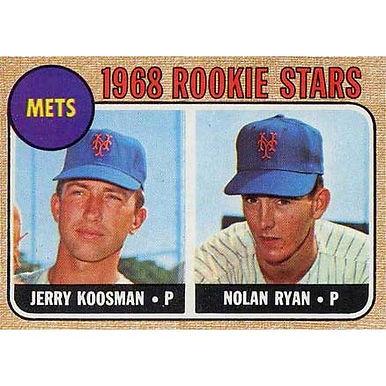 Nolan Ryan - 1968 Topps