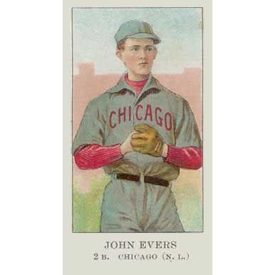 Johnny Evers - 1908 Caramel E91
