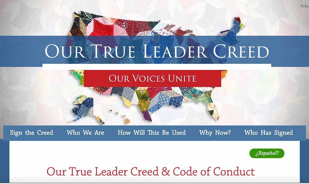 Visit the True Leader Creed Website
