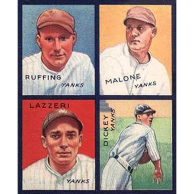 Yankees    - 1935 Goudey