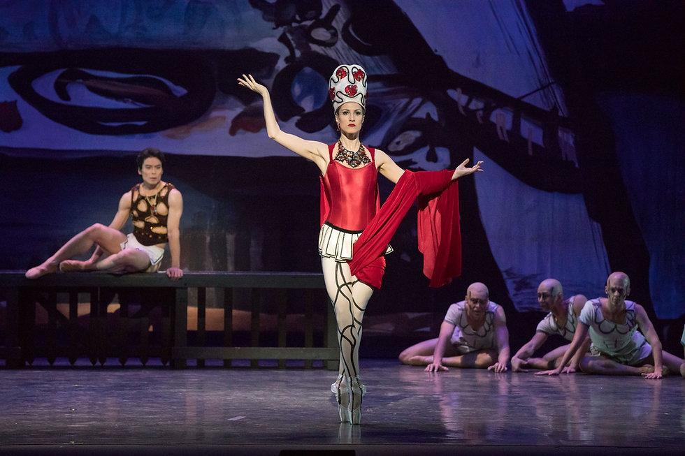 Los Angeles Ballet Prodigal Son Balanchine Walker Shimizu