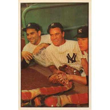 Mickey Mantle & Yogi Berra