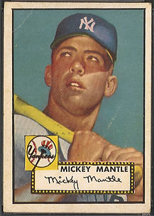 1952 Topps Mickey Mantle GOOD 2