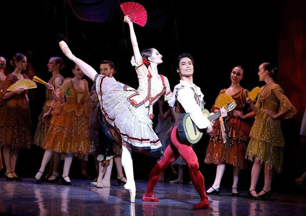 Los Angeles Ballet Don Quixote Cinquemani Shimizu