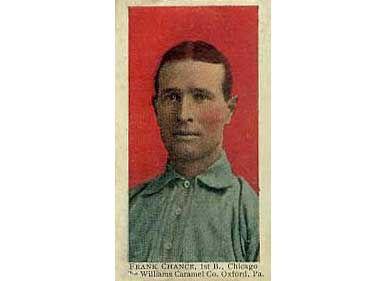 Frank Chance - 1910 Caramel E90-3