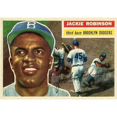Jackie Robinson  - 1956 Topps