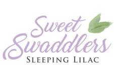 Sweet Swaddlers Sleeping Lilac Logo