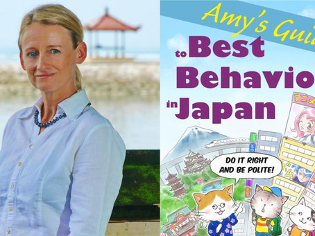 Japan Today interview with 'Amy's Guide to Best Behavior in Japan' author Amy Chavez