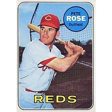 Pete Rose - 1969 Topps