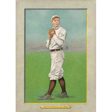 Christy Mathewson - 1910 Tobacco T-3