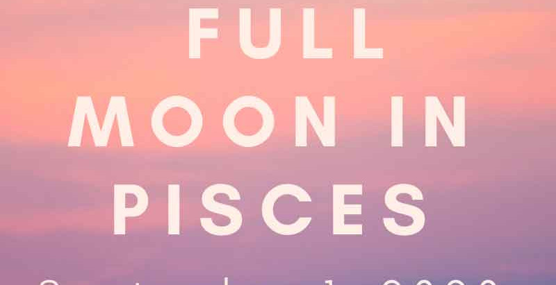 September Full Moon: Follow Your Intuition!