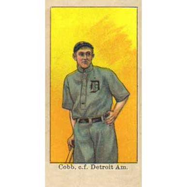 Ty Cobb - 1909 Caramel E92
