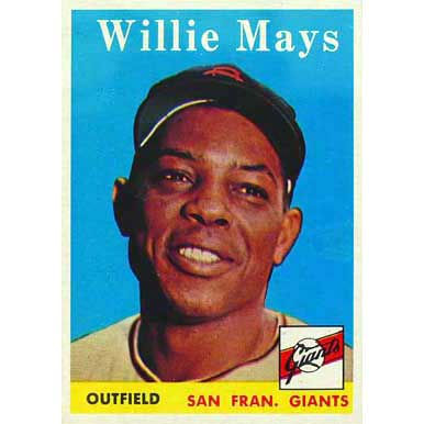 Willie Mays   - 1958 Topps
