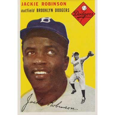 Jackie Robinson   - 1954 Topps