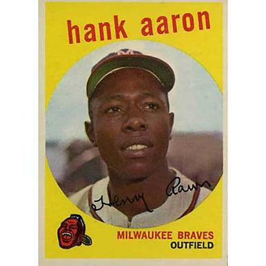 Hank Aaron   - 1959 Topps