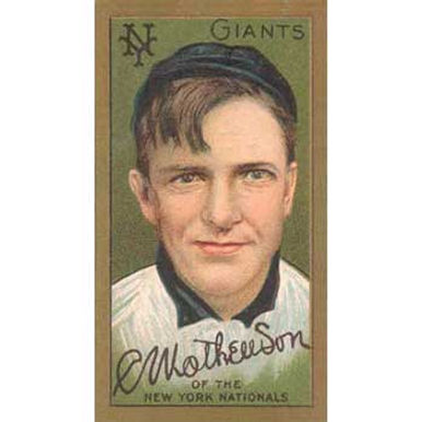 Christy Mathewson - 1911 Tobacco T-205