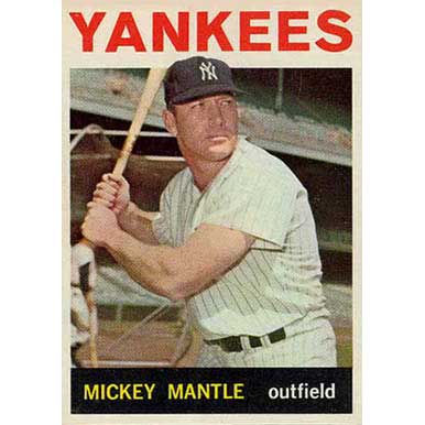 Mickey Mantle  - 1964 Topps