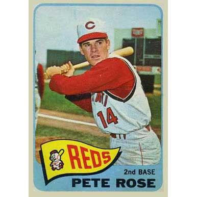 Pete Rose  - 1965 Topps