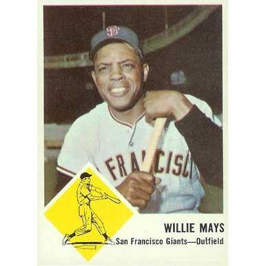 Willie Mays   - 1963 Fleer