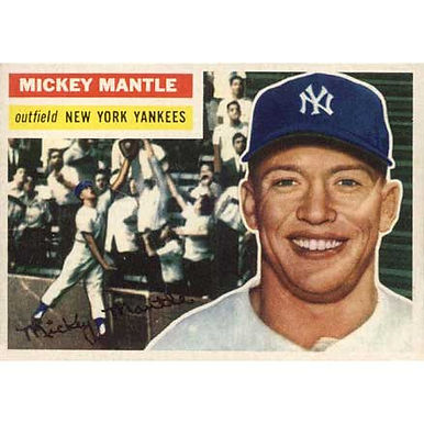 Mickey Mantle  - 1956 Topps