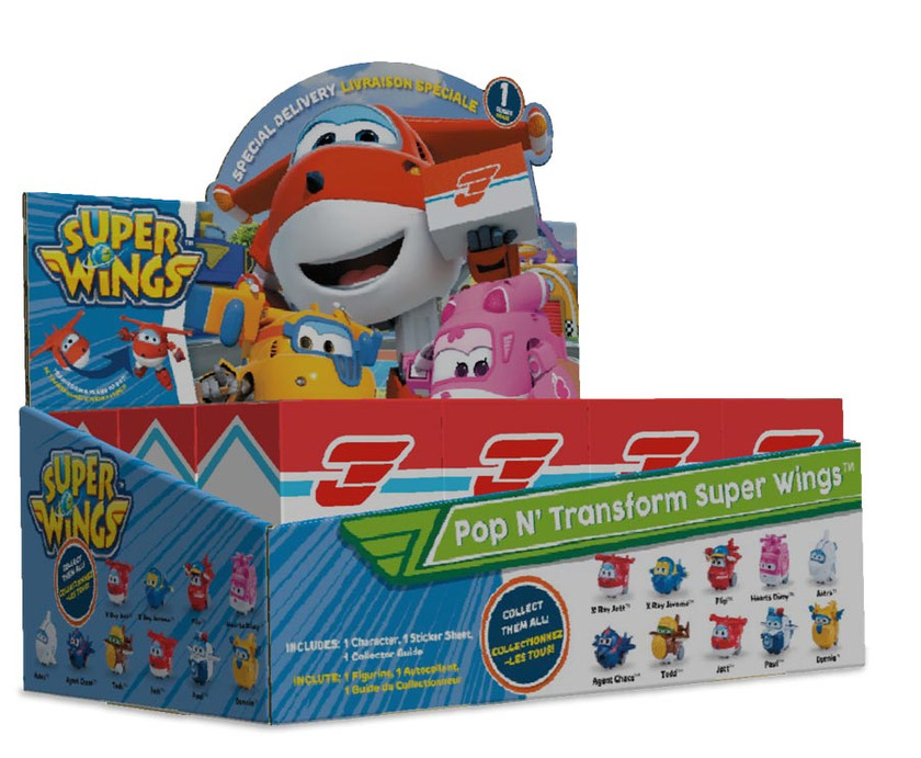Superwings - Packaging