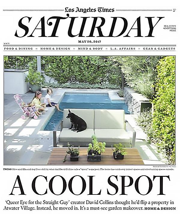 """LA Times """"A Cool Spot"""""""