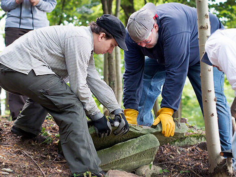 Temple Plays Role in Film About Restoring Polish Graves