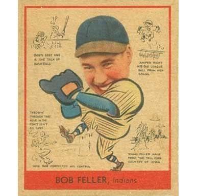 Bob Feller   - 1938 Goudey
