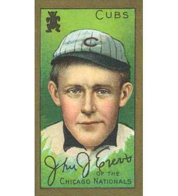 Johnny Evers - 1911 Tobacco T-205
