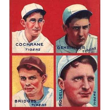 Tigers    - 1935 Goudey
