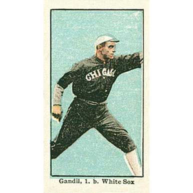 Chick Gandil - 1910 Caramel E90-3