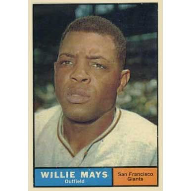 Willie Mays  - 1961 Topps