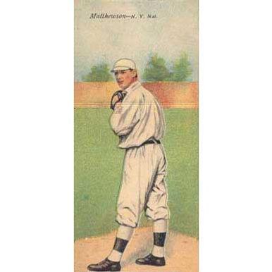 Matthewson/Bridewell - 1911 Tobacco T-201