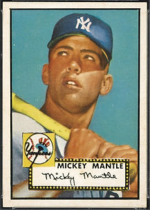 1952 Topps Mickey Mantle NM-MT 8
