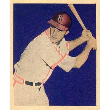 Stan Musial   - 1949 Bowman