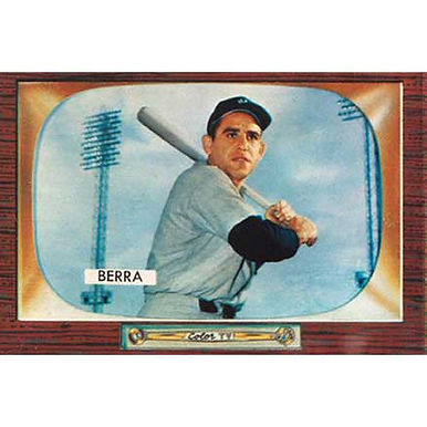 Yogi Berra   - 1955 Bowman