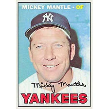 Mickey Mantle - 1967 Topps