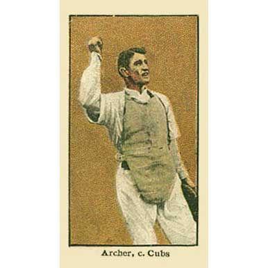 Jimmy Archer - 1910 Caramel E90-3