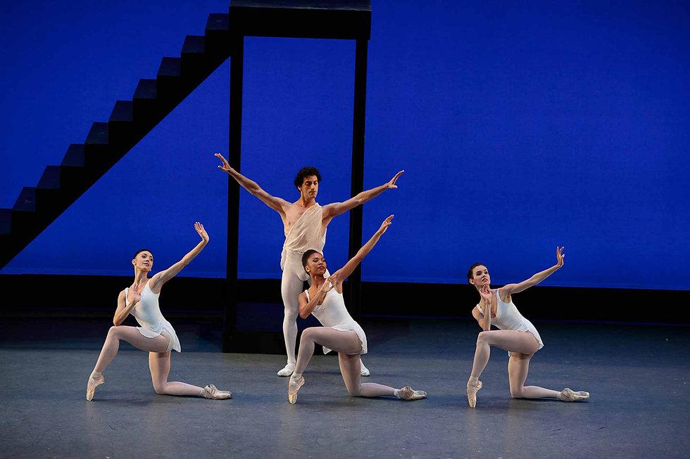 Los Angeles Ballet Apollo Balanchine Sargsyan Muses