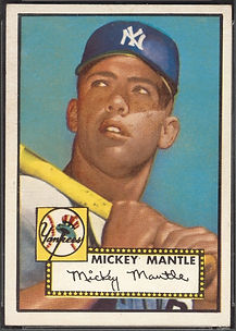 1952 Topps Mickey Mantle NM-7